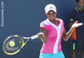 Vicky Duval, who trains at the IMG Bollettieri Tennis Academy, is a top contender